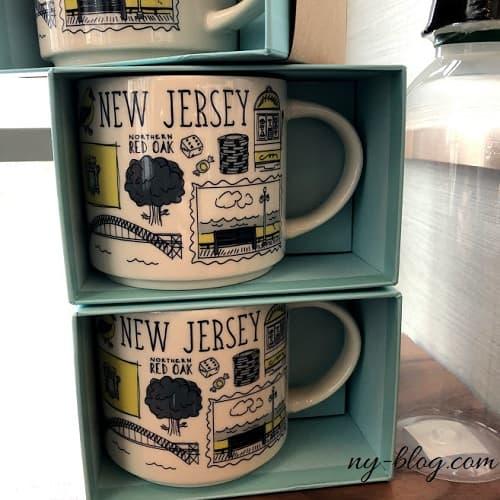 ニュージャージー州のスタバマグカップ