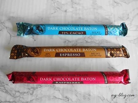 トレーダージョーズのダークチョコレートバトン
