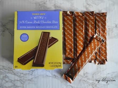 トレーダージョーズのチョコレートバー