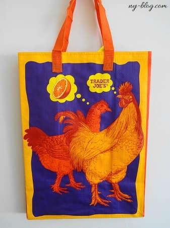 トレーダージョーズのエコバッグ:オレンジチキン