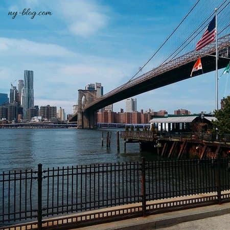 ニューヨークの絶景レストラン【リバーカフェ