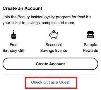 セフォラで会員登録なしで購入する方法