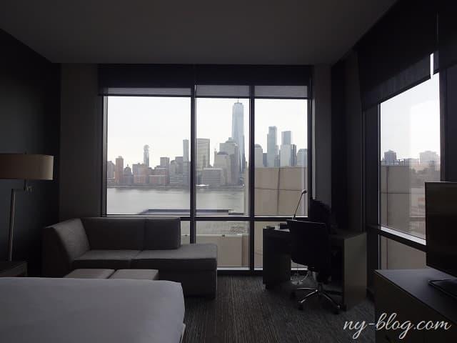 ハイアット ハウス ジャージー シティの客室