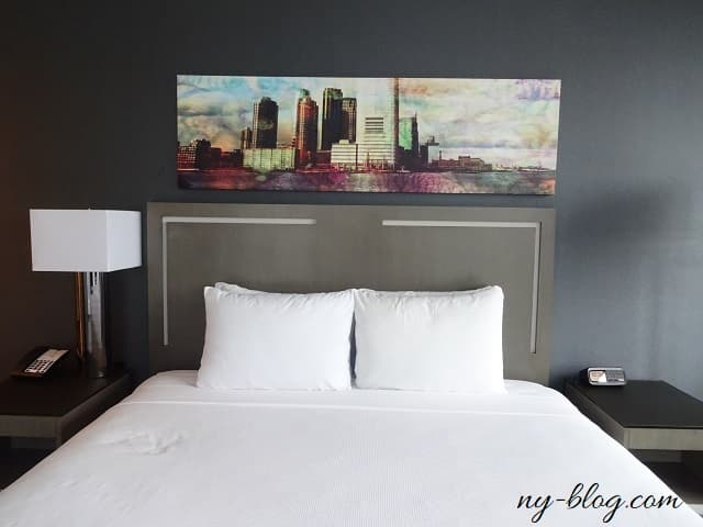 ハイアット ハウス ジャージー シティのベッド