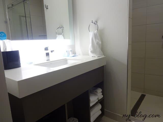ハイアット ハウス ジャージー シティの洗面所