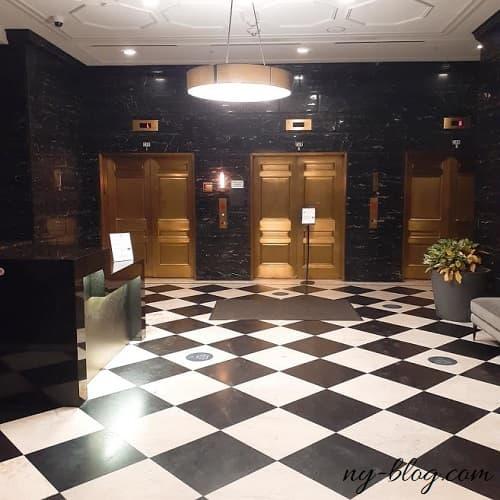 ハイアット ハウス ジャージー シティの一階